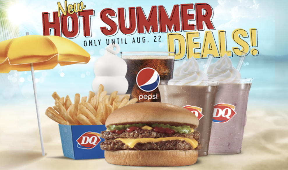 [Dairy Queen Canada] New Hot Summer Deals Available Now